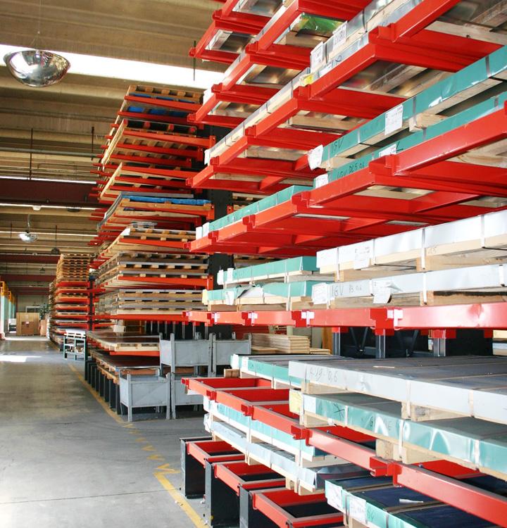 板材仓库。
