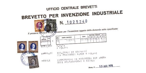 IGV集团众多工业产权之一。