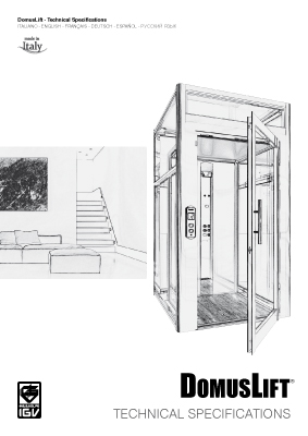 IGV-DomusLift-Technical-Specifications